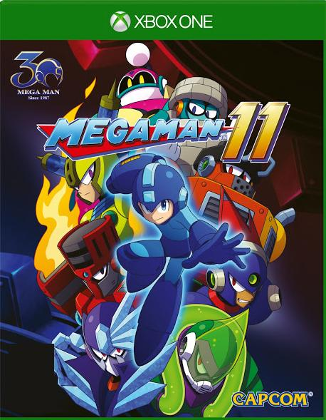 Mega Man 11 Xbox One Boxart
