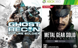 GR Future Soldier et MGS Peace Walker compatibles Xbox One